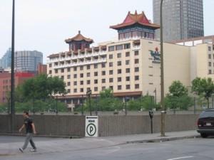 Holiday Inn Select - Montréal : extérieur