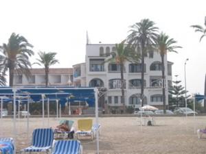 Hosteria del Mar : plage privée et hôtel