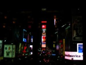 Times Square depuis l'hôtel
